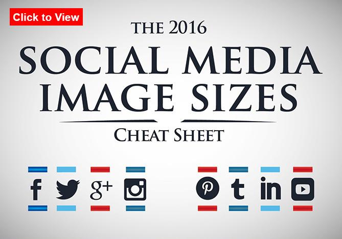 social media size cheat sheet header