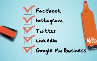 Organize Your Social Media Presence in 2021: Take an Inventory