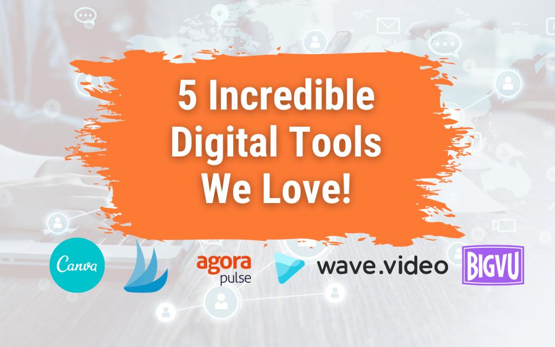 Digital tools to help your social media efforts