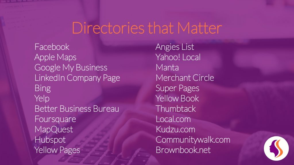 Citations - sites that matter to your business
